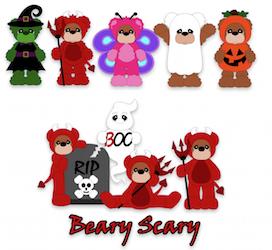 Beary Scary Bears - 2012