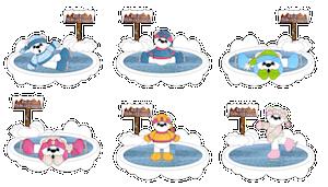 Ice Skating Polar Bears (10 Sets 5 x Boys & Girls) - 2011
