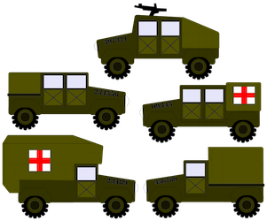 Army Vehicles - 2013
