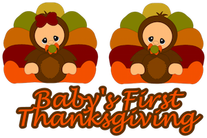 Baby's First Thanksgiving - 2012