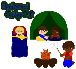 Backyard Camp Out - 2012