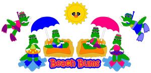 Beach Bum Gators - 2012