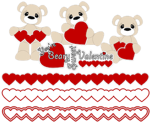 Beary Sweet Valentine - 2014