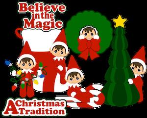 Believe in Magic Boy Elves - 2014