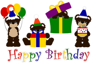 Birthday Bears - 2012
