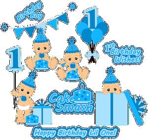 Birthday Boy Cake Smash - 2013