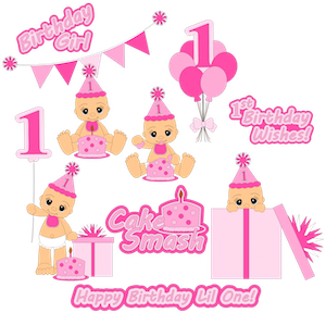 Girl Cake Smash- 2013