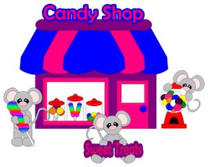 Candy Shoppe Mice - 2012