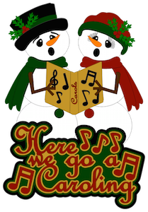 Caroling Snowmen - 2014