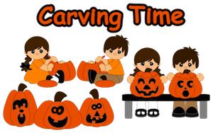 Carving Pumpkin Palz - 2012