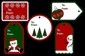 Christmas Tags - 2013