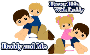 Horsey Ride Daddy - 2013
