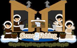 Ice Fishing Kids - 2013