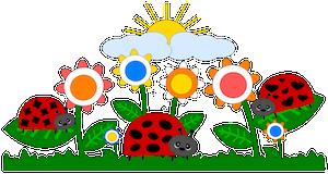 Springtime Ladybugs - 2013