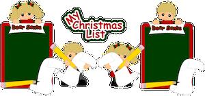 List For Santa - 2013