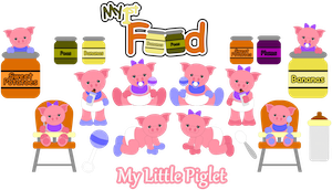 My Little Piglets- 2012