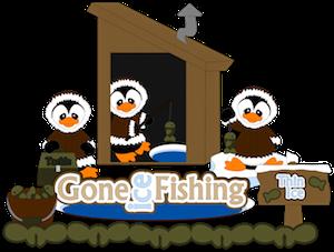 Penguins Ice Fishing - 2013