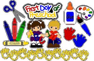 First Day Preschool - 2013