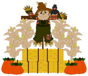 Fall Time Scarecrow - 2012