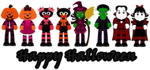 Silly Halloween Palz- 2012