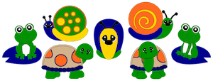 Frogs, Turtles, & Snails - 2012