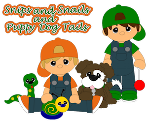 Snips, Snails, & Puppy Dog Tails- 2012