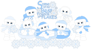 Snowman Cuties - 2014