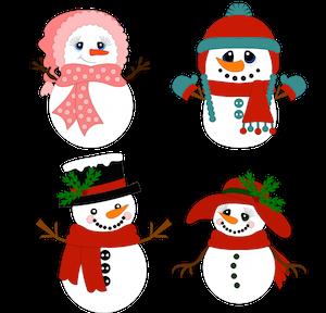 Snowman Set - 2014