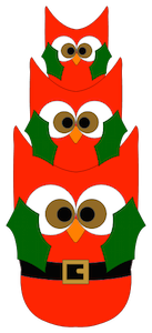 Stacked Owls - 2014
