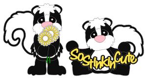 So Stinkin Cute Skunks - 2012