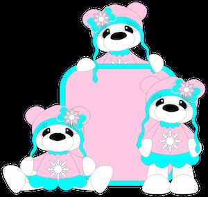 Sweater Bear Girls - 2014