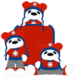 Sweater Bear Boy - 2014
