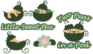 Little Sweet Peas - 2012