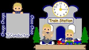 Train Conductor Boy - 2013