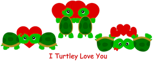 Turtley Love You - 2014