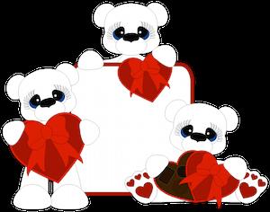 Valentine Day Bears - 2015