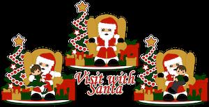 Visit with Santa - 2014