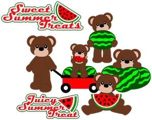 Water Melon Bears - 2012
