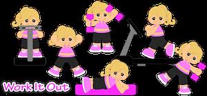 Workout Girls - 2014