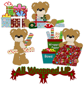 All Wrapped Up Bears - 2012