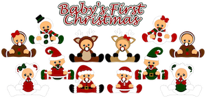 Baby's First Christmas- 2012