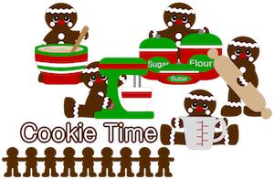 Baking Gingerbreads - 2012