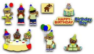 Birthday Boy Bears - 2011