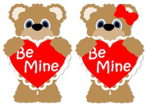 Be Mine Bears - 2012