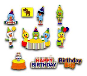 Birthday Bird Boys - 2011