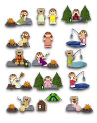 Camping  Kids Collection -2011