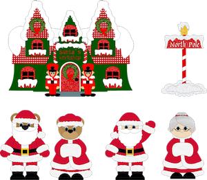 Christmas Time Santa's Workshop - 2011