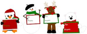 Christmas Gift Tags -2012