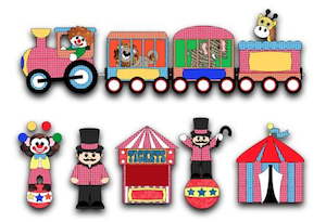 Circus Train and Animals - 2011