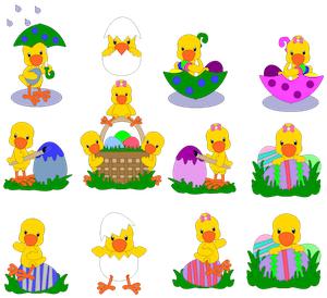 Easter Chicks - 2012